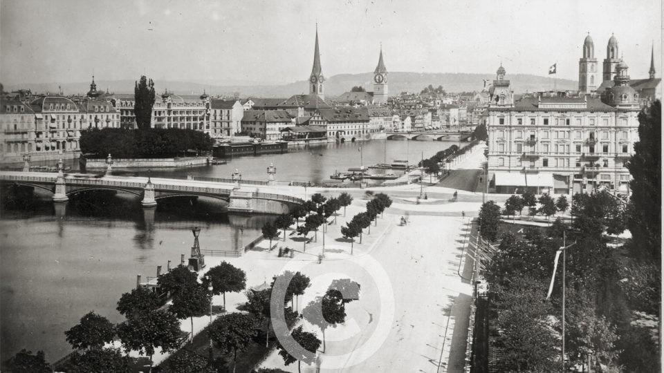 Zürich – Schwarz auf Weiss