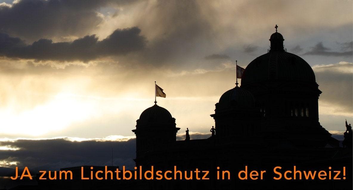 Ja zum Lichtbildschutz in der Schweiz!