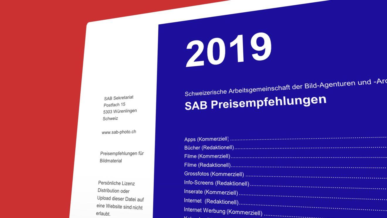 Neu: SAB Preisempfehlungen