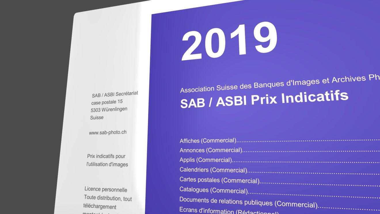 Prix Indicatifs SAB/ASBI 2019